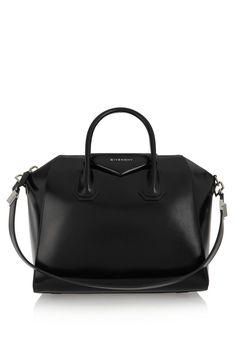 Givenchy | Medium Antigona bag in black leather | NET-A-PORTER.COM