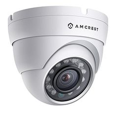 Amcrest ProHD Outdoor 1080P POE Dome IP Security Camera  IP67 Weatherproof 1080P (1920 TVL) IP2M-844E (White) Review