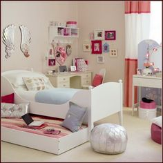Girls-Bedroom-Furniture-Ideas Girly