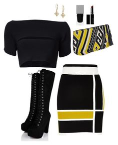 """Untitled #284"" by hayleyl22 ❤ liked on Polyvore featuring River Island, T By Alexander Wang, Givenchy and Witchery"
