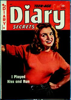 Norma Jeane on the cover of Diary magazine. Photo by Bruno Bernard, 1946.