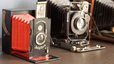 The Jollylook Is a Retro Folding Polaroid Camera Made from Recycled Cardboard