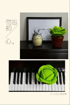 Crochet plant - Cabbage (vegetable) Free crochet pattern…