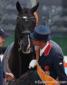 Carl Hester and Uthopia.....awwee xox  www.thewarmbloodhorse.com