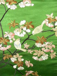 Wonderful color, Japanee kimono fabric