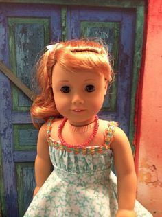 A personal favorite from my Etsy shop https://www.etsy.com/listing/280373050/american-girl-doll-clothes-1950s
