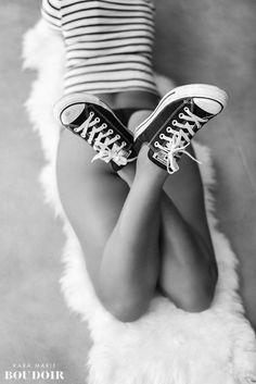 Austin Boudoir Studio — Kara Marie Boudoir. Change this out for Vans and its perfect!