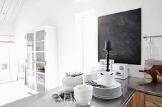 wit in de keuken