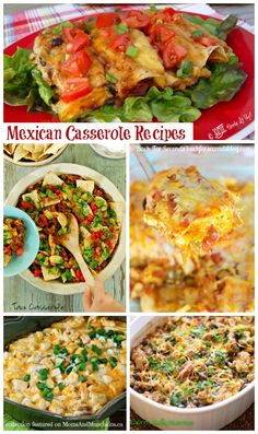 Mexican Casserole Recipes #Mexican #Recipes