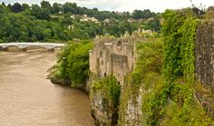 CHEPSTOW CASTLE Chepstow Wales.