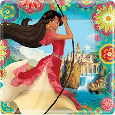 Turn your Princess Elena party into an enchanted fairytale with these Elena of Avalor party ideas from Birthday in a Box.