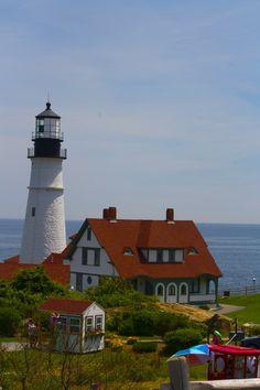 Fort William Park Lighthouse - Portland, Maine