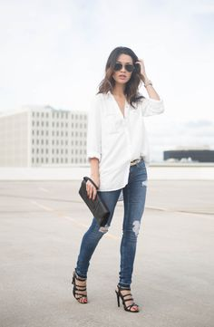 Browse petite outfit inspiration from bloggers with street style we love   'The Hanh Solo'