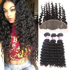 Hair Extensions & Wigs Trustful Wome #27 Indian Deep Wave Hair 3 Bundles Honey Blonde Color Human Hair With Closure Non Remy Curly Hair Extensions Terrific Value Human Hair Weaves