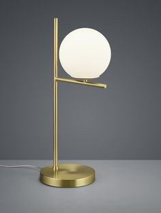 Stolová lampa PURE BRASS Desk Lamp, Table Lamp, Messing, Brass, Pure Products, Mirror, Lighting, Furniture, Home Decor