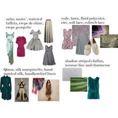 """""""more type 2 fabrics"""" by expressingyourtruth on Polyvore"""