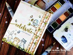 Studio Monday with Nina-Marie: Easy Pastel Watercoloring