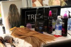 Tresemme beauty products used on the models at Rebecca Minkoff's spring 2013 runway show during New York Fashion Week. #nyfw #beauty
