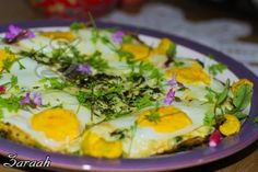 Nargessi.  Spinach and egg dish.