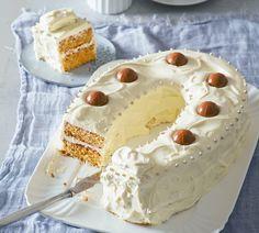 Bildergebnis für kuchen hufeisen Vanilla Cake, Tiramisu, Pie, Ethnic Recipes, Desserts, Food, Pies, Kuchen, Horse Shoes