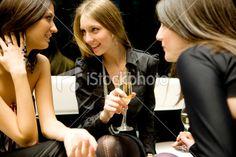 Friends talking Royalty Free Stock Photo