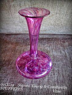 16 Best Art Glass Hand Blown Vase S Ideas Hand Blown Vases Hand Blown Art Glass Vase