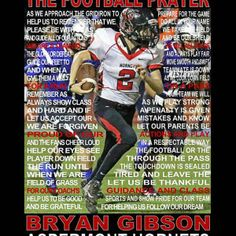 The Football Prayer with ball personalized Senior night, Sports banquet, Football print, Football poster, Sports prayer - theodora Baseball Poems, Baseball Cards, Football Prayer, Annie Angel, Word Collage, Senior Gifts, Sports Mom, Friends In Love, Giclee Print