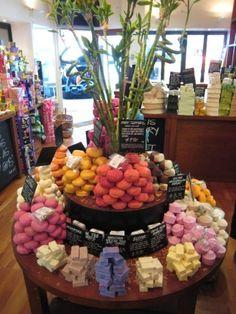 Round Soap Display...so pretty!
