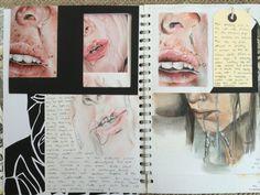 Sketchbook inspiration, sketchbook ideas, a level art sketchbook, graphic a Kunstjournal Inspiration, Sketchbook Inspiration, Sketchbook Ideas, Identity Artists, Artist Research Page, Kunst Portfolio, Gcse Art Sketchbook, Sketchbooks, A Level Art Sketchbook Layout