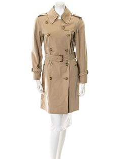 Burberry trench, iconic.