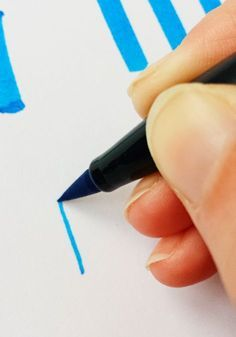 How to Hand-Letter with Brush Pens