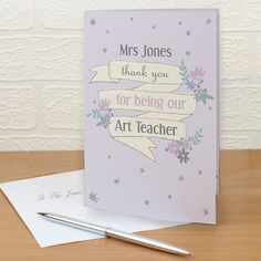 Say it with your own words with our greeting cards - from £2.49