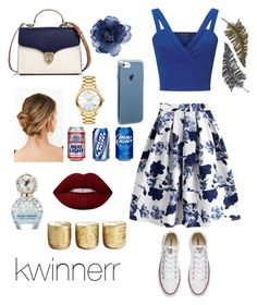 """""""fourth"""" by kwinnerr on Polyvore featuring Miss Selfridge, Converse, Aspinal of London, Accessorize, Urban Outfitters, Movado, Paperself, Marc Jacobs, Lime Crime and Illume"""