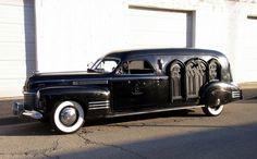 Classic Hearses | 1941 cadillac hearse 1941 cadillac hearse at the lemont classic car ...