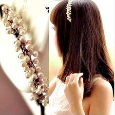 Alibaba グループ | AliExpress.comの 髪の宝石 からの  12ピースブライダルパールフラワーヘアーピンクリップ花嫁介添人ヘアバンドジュエリー帽子ウェディングヘアアクセサリーヘアジュエリーd0024usd 3.98/ピース1ピースウェディングヘアアクセサリーブライダルラインストーンヘア 中の 2016シックなヘアジュエリーパールジュエリーパールヘアピンヘアフープヘッドバンド女性ヘアバンドヘアアクセサリーヘッドピースD0409