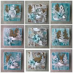 Christmas Cards To Make, Christmas Gift Tags, Xmas Cards, Handmade Christmas, Xmas Theme, Mixed Media Cards, Artist Trading Cards, Winter Cards, Christmas Projects