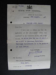 WW1 ANZAC SERVICEMAN Charles John Jessup of RICHMOND