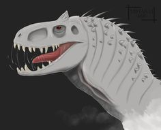 Indominus Rex by miharoe on DeviantArt Jurassic World 2015, Indominus Rex, World Movies, Cool Cartoons, Lion Sculpture, Statue, Lazy, Kid, Animals
