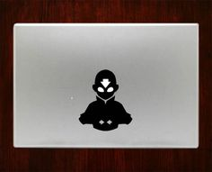 """Avatar Aang Airbender Decal Sticker Vinyl For Macbook Pro/Air 13"""" Inch 15"""" Inch 17"""" Inch Decals Laptop Cover"""