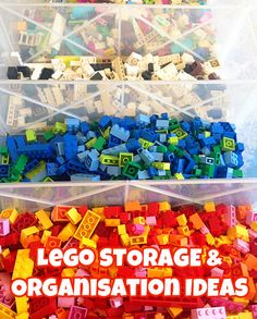 Lego Storage & Organisation Ideas