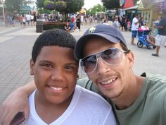 Beautiful Daddy and his baby boy Gabe...