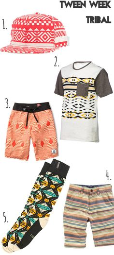tween boys tribal trends.... Malosi's name written all over (;