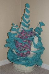 Hyperbolic crochet patterns: The Maine Reef: Patterns