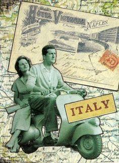 Vespa Italiana scrap