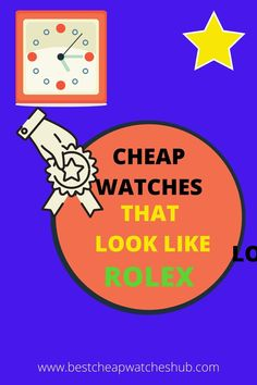 Cheap watches that look like Rolex are the best decision for brilliant individuals who need the best quality and trendy watch. Best Cheap Watches, Trendy Watches, Good And Cheap, Rolex, That Look, Mens Fashion, Guys, Luxury, Moda Masculina