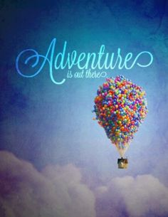Up the movie : adventures : balloons