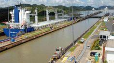 Sluse i Panamakanalen