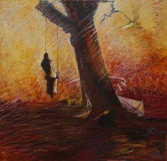 Újrakezdés / Resumption - Vászon, akril / Canvas, acrylic Artist: Kecskeméti Dóra