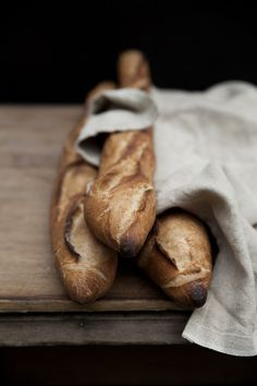 say yes to the baguette.