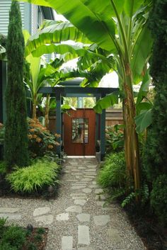 Garden Stone Pathway Ideas-26-1 Kindesign